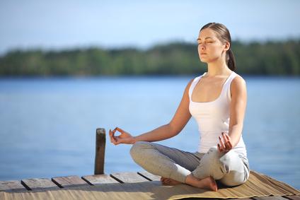 Fasten, Entspannen und Yoga