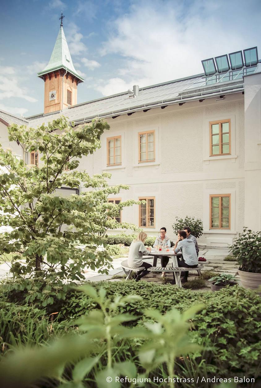 Stresspause: Fastenwoche im Refugium Hochstrass, Österreich