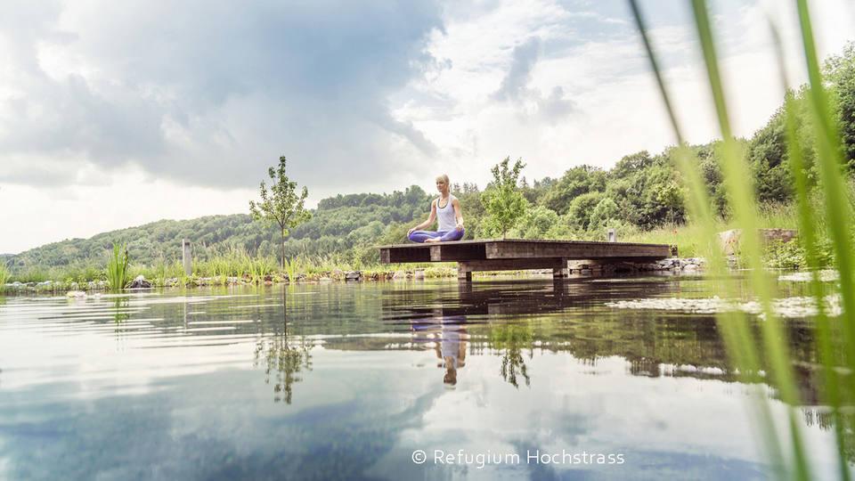 Fasten in friedlich gelöster Atmosphäre mit Weitblick im Refugium Hochstrass (Österreich)