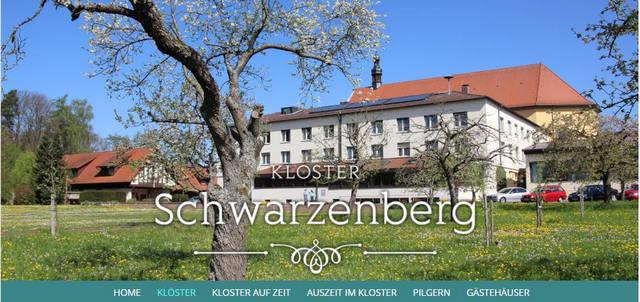 Kloster Schwarzenberg nahe Scheinfeld im Steigerwald in Bayern