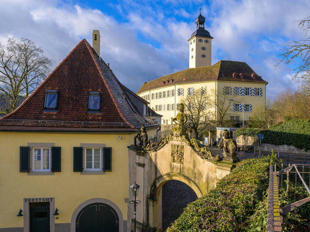 Schlosshotel Horneck in der Region Heilbronn-Franken