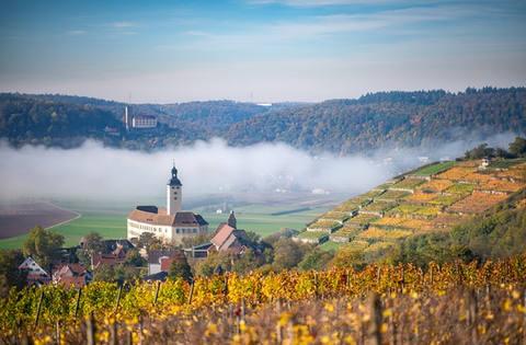 Fasten im Schloss mit Wandern und Yoga in Heilbronn-Franken - Januar 2021