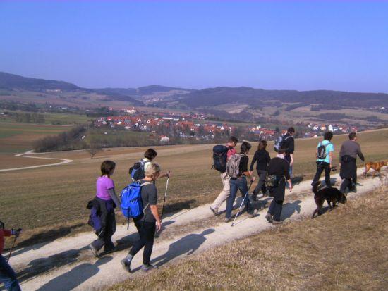 Fasten und Wandern in der hessischen Rhön / im Landhaushotel Wasserkuppe