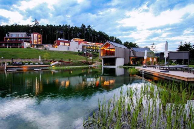Fastenwandern im Wald Spa Resort Pfalzblick - auch Frischkost oder basische Vitalkost wählbar
