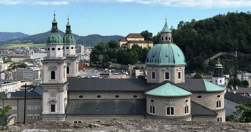Pallottiner Klosterfasten über den Dächern Salzburgs
