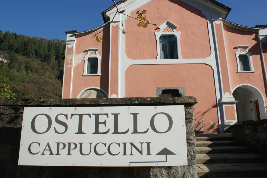 Ostello dei Cappuccini in Faido/ Tessin Schweiz